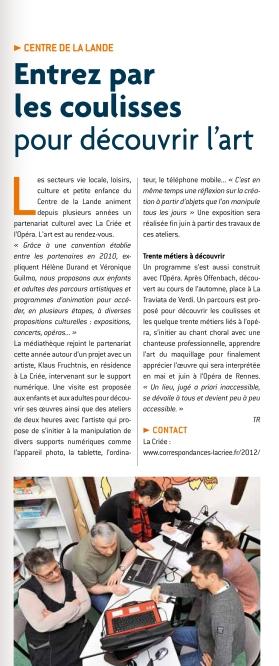 Vivre à St-Jacques Journal, N. 14, March 2013, France