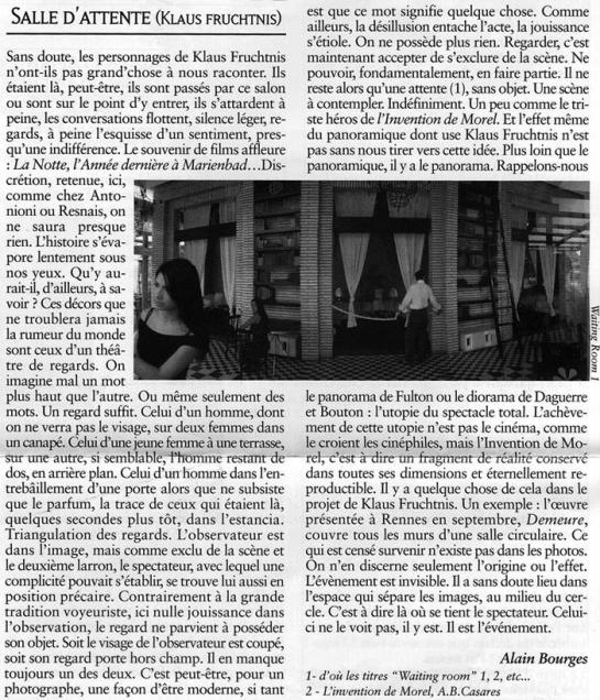 Revue Les Acharnistes, 2004, France