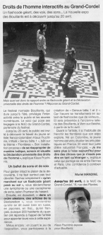 Ouest France Newspaper, March 29th 2012, France