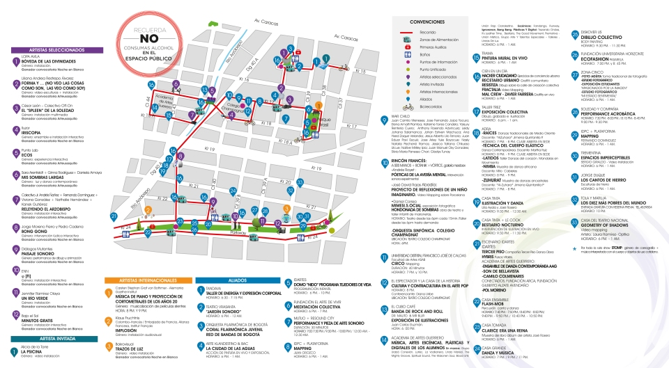 Mapa EVENTOFI