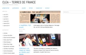 CLEA Terres de France 2014-2015